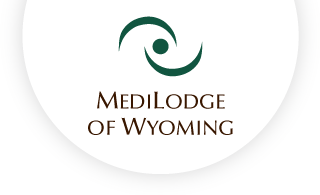 Medilodge of wyoming web logo